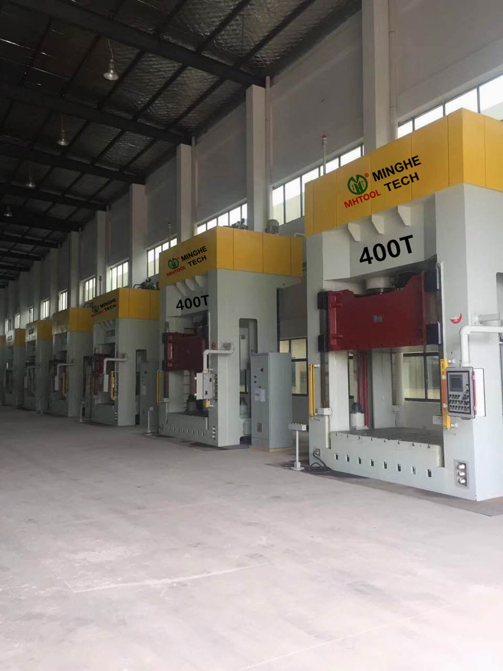 024-MingHe-Four-Column-Gantry-Stamping-Drawing-Hydraulic-Press-1- (6) 400T
